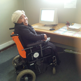 Nothemba in her office