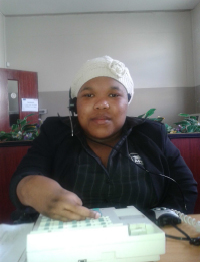 Nothemba on the switchboard