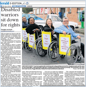 The launch of Wheelchair Wednesday 2014