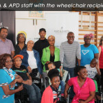ACSA Wheelchair Handover - Group Photo Caption