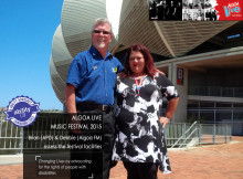 Ability Advocacy - Algoa FM Music Festival 2015