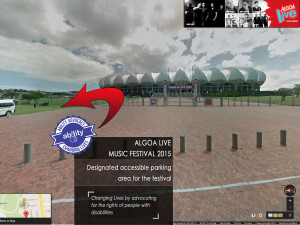 Ability Advocacy - Algoa FM Music Festival 2015 Parking