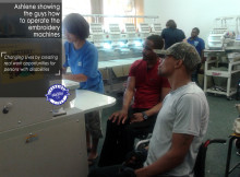 Elroy & Godfrey's visit to APD