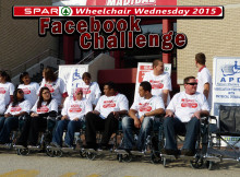 Spar Wheelchair Wednesday 2015 Facebook Challenge