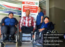 Marshall Marsh - Wheelchair Wednesday 2015 Ambassador
