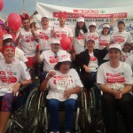 Team Wheelchair Wednesday at the Spar Ladies Race