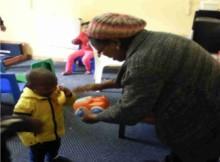 APD Day Care Centre - Social Development Visit (Nelson Mandela Day 2015)