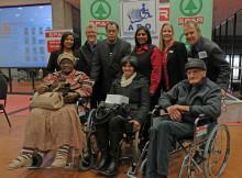 11_Wheelchair Wednesday 2015 Handover Function - Danny Jordaan & Beneficiaries Group Photo