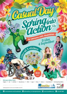 Casual Day 2015 Poster - Spring Into Action_APD Nelson Mandela Bay