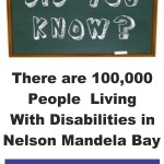 APDNMB - Disability Awareness Month (100000 Pwds in Nelson Mandela Bay)