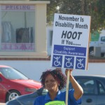 APDNMB - Disability Awareness Month Protest 4