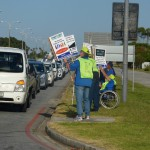 APDNMB - Disability Awareness Month Protest 5