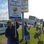 APDNMB - Disability Awareness Month Protest 8
