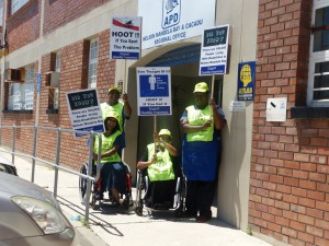APDNMB - Disability Awareness Month Protest (Media Release)