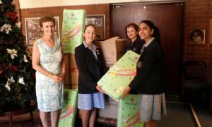 South African Girls Schools Association - Nappy Run Handover (Collegiate Girls School) 1