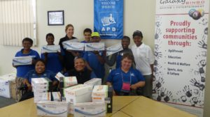 Galaxy Bingo Printer Cartridges Handover (APD Nelson Mandela Bay) - Apr 2016