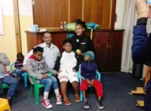 Zonke Spar Visit to APD Day Care Centre for Children With Disabilities on Nelson Mandela Day 2016_1