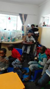 Zonke Spar Visit to APD Day Care Centre for Children With Disabilities on Nelson Mandela Day 2016_6