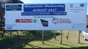 Wheelchair Wednesday 2017 Billboard_APD Nelson Mandela Bay