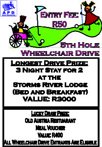 APD Charity Golf Day 2017 - Wheelchair Drive