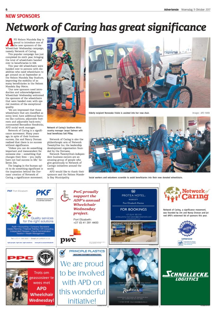 Wheelchair Wednesday 2017 Campaign Supplement (pg6)