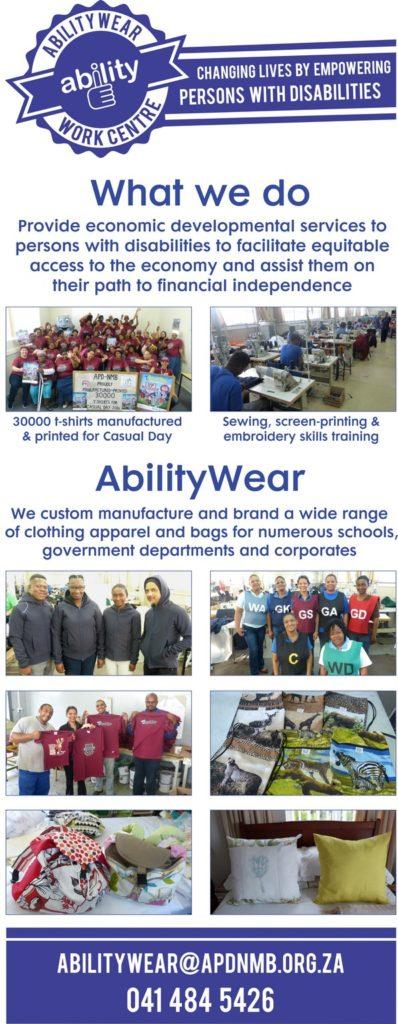 AbilityWear Work Centre 2018 (APD Nelson Mandela Bay)