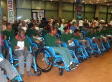 Wheelchair Wednesday 2018 Handover Function at NMB Stadium (APD Nelson Mandela Bay)_39